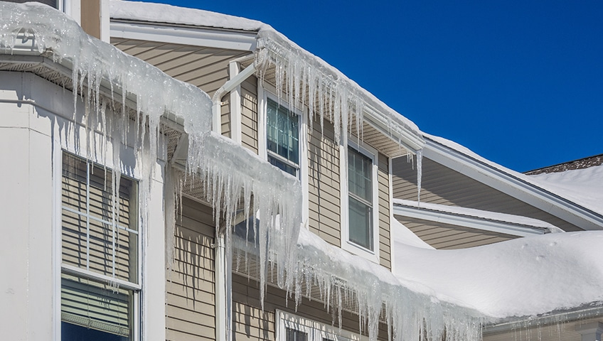 Ice Damming: How to Protect Your Roof from Its Damaging Effects