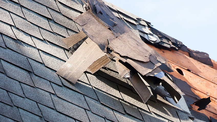 High Winds Can Cause Serious Damage to the Roofs of GTA Homes