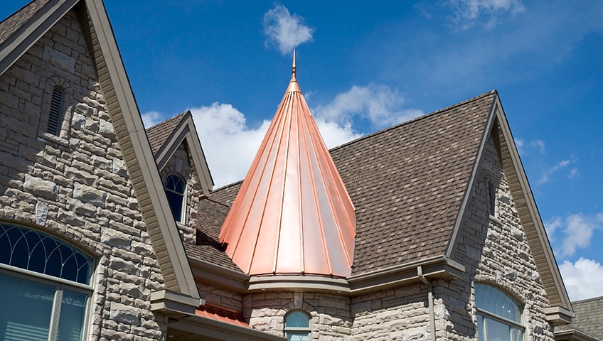 Copper Roofing and Its Effect on Curb Appeal