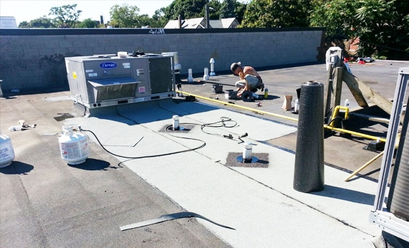 What Type of Flat Roof Repair & Maintenance Is Needed?