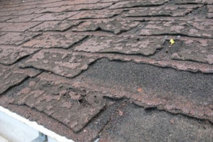 Worn Or Damaged Roof Shingles