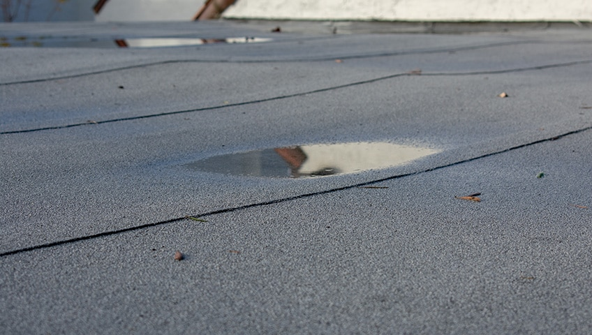 Main Causes Of Commercial Flat Roof Leaks