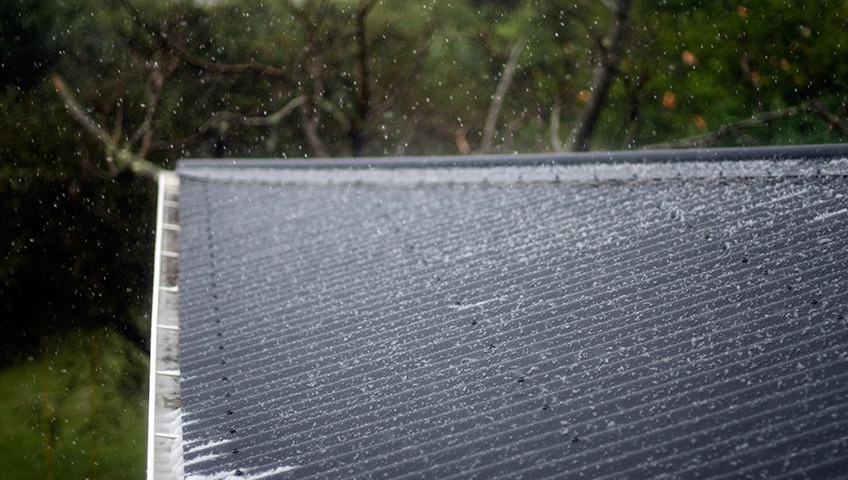 What to Look for When Detecting Hail Damage on Shingles?
