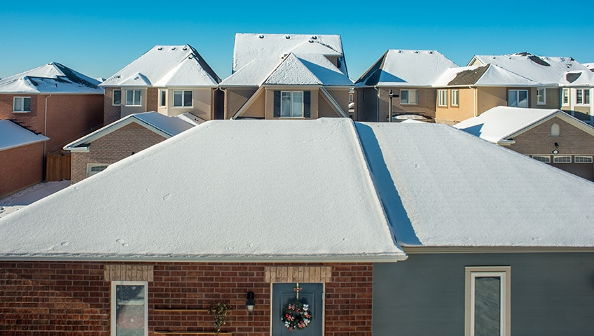 What to Do If Your Toronto Home Needs Roofing Repairs During Winter